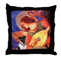 Mandolin / Smooth T (#1) Throw Pillow