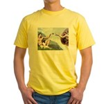 Creation / Smooth T (#1) Yellow T-Shirt