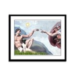 Creation / Smooth T (#1) Framed Panel Print