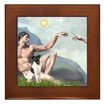 Creation / Smooth T (#1) Framed Tile