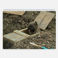 Cairn Terrier Turkey Wall Calendar
