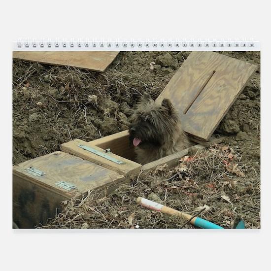 Cairn Terrier Turkey Wall Calendar