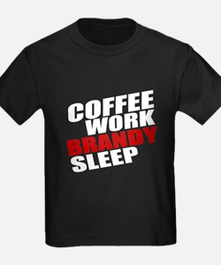 Coffe Work Brandy Sleep T