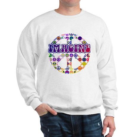 Vintage Peace Sign RETRO Sweatshirt