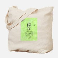 The Hula Kahiko of Laka Tote Bag