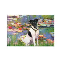 Lilies / Smooth T (#1) Rectangle Magnet (10 pack)