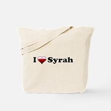 I Love Syrah Tote Bag