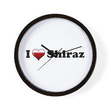 I Love Shiraz Wall Clock