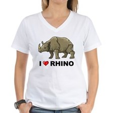 I Love Rhino Shirt