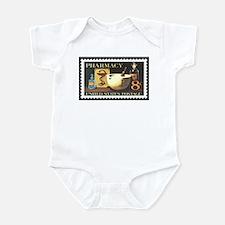 Pharmacist Stamp Collecting Infant Bodysuit
