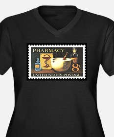 Pharmacist Stamp Collecting Women's Plus Size V-Ne