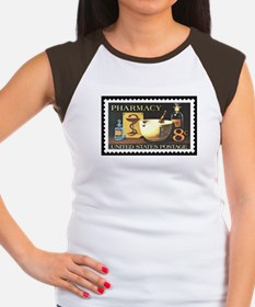 Pharmacist Stamp Collecting Women's Cap Sleeve T-S