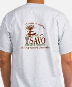 Tsavo Cheetah Project T-Shirt