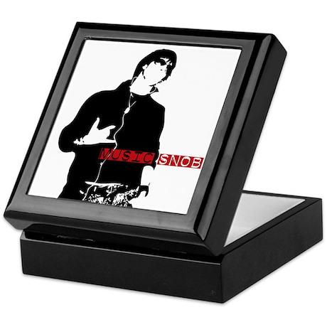 Music Snob Keepsake Box