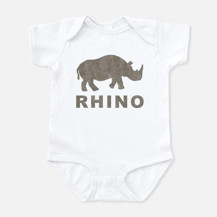 Vintage Rhino Onesie