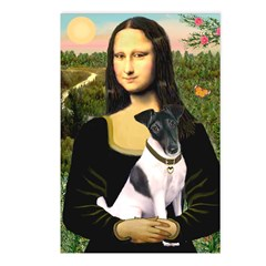 Mona's Smooth Fox Terrier (Bl Postcards (Package o