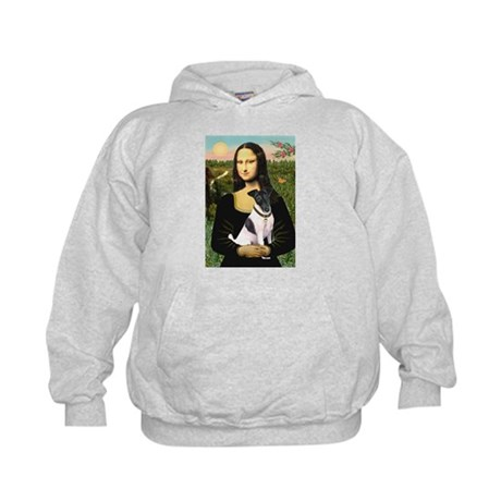 Mona's Smooth Fox Terrier (Bl Kids Hoodie
