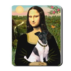 Mona's Smooth Fox Terrier (Bl Mousepad