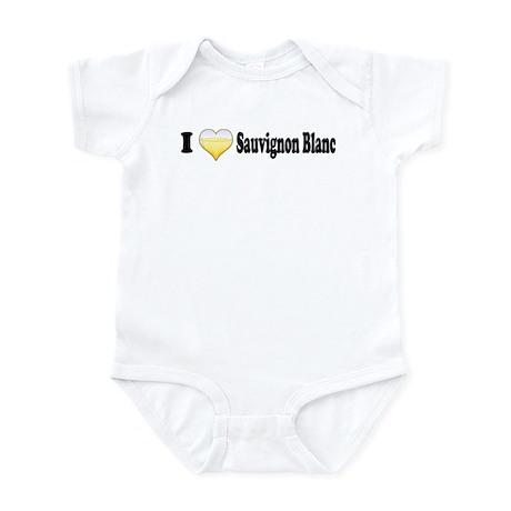 I Love Sauvignon Blanc Infant Bodysuit