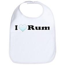 I Love Rum Bib