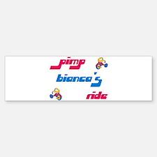 Pimp Bianca's Ride Bumper Bumper Bumper Sticker