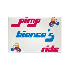 Pimp Bianca's Ride Rectangle Magnet (10 pack)