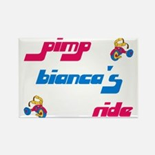 Pimp Bianca's Ride Rectangle Magnet (10 pack)