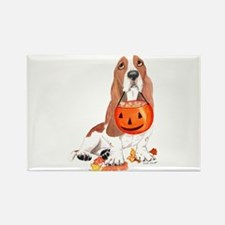 Cute Hound Rectangle Magnet