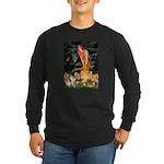 Fairies / Smooth T (#1) Long Sleeve Dark T-Shirt