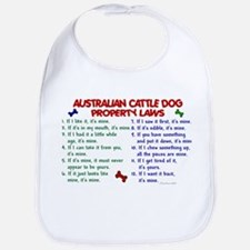 Australian Cattle Dog Property Laws 2 Bib