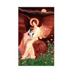 Angel / Smooth T (#1) Sticker (Rectangle)