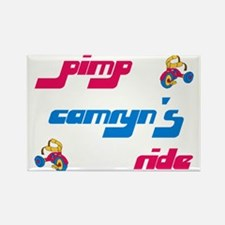 Pimp Camryn's Ride Rectangle Magnet (10 pack)