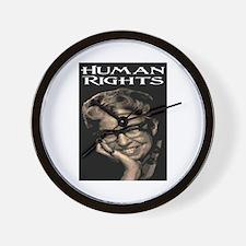 HUMAN RIGHTS Wall Clock