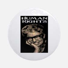 HUMAN RIGHTS Ornament (Round)