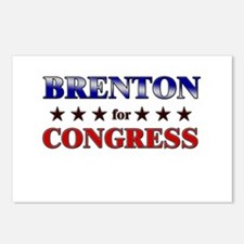 BRENTON for congress Postcards (Package of 8)