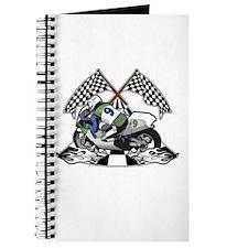 Checkered Flag Race Bike Journal