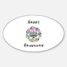 Happy Hanukkah Decal