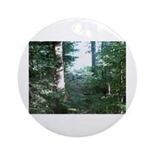 PSDB Deer Drink Photo Ornament (Round)