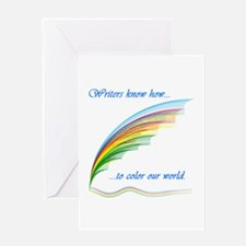 Writers know how... Greeting Card
