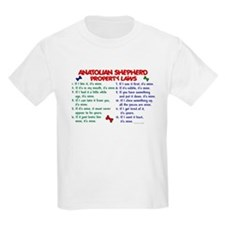 Anatolian Shepherd Property Laws 2 T-Shirt