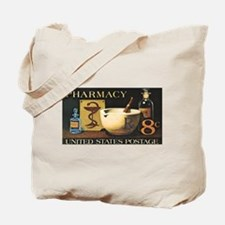Pharmacist Stamp Collecting Tote Bag