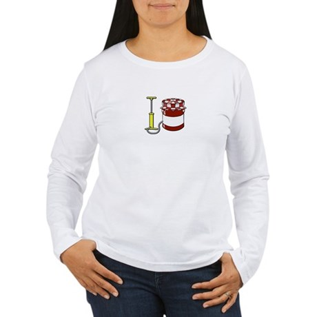 PUMP UP THE JAM Women's Long Sleeve T-Shirt