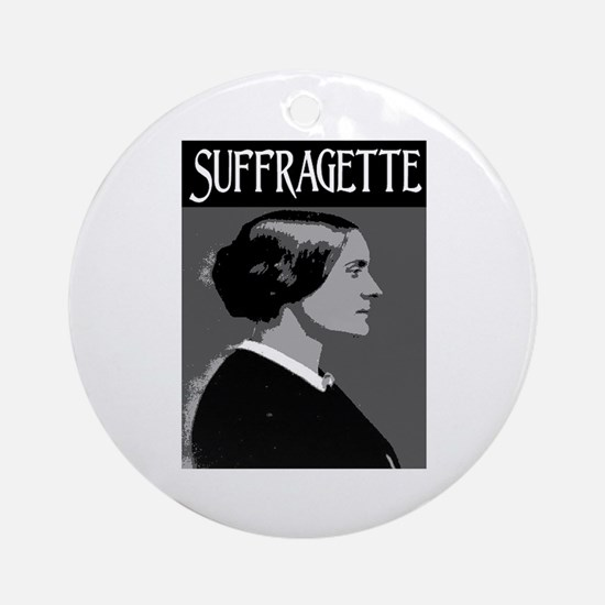 SUFFRAGETTE Ornament (Round)