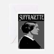 SUFFRAGETTE Greeting Card