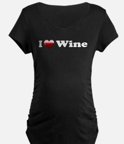 I Love Red Wine T-Shirt