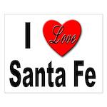 I Love Santa Fe Small Poster