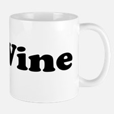 I Love Red Wine Mug