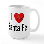 I Love Santa Fe Large Mug