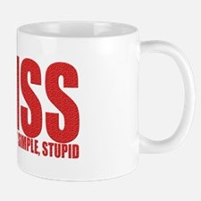 KISS-Keep It Simple, Stupid Mug
