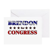 BRENDON for congress Greeting Card